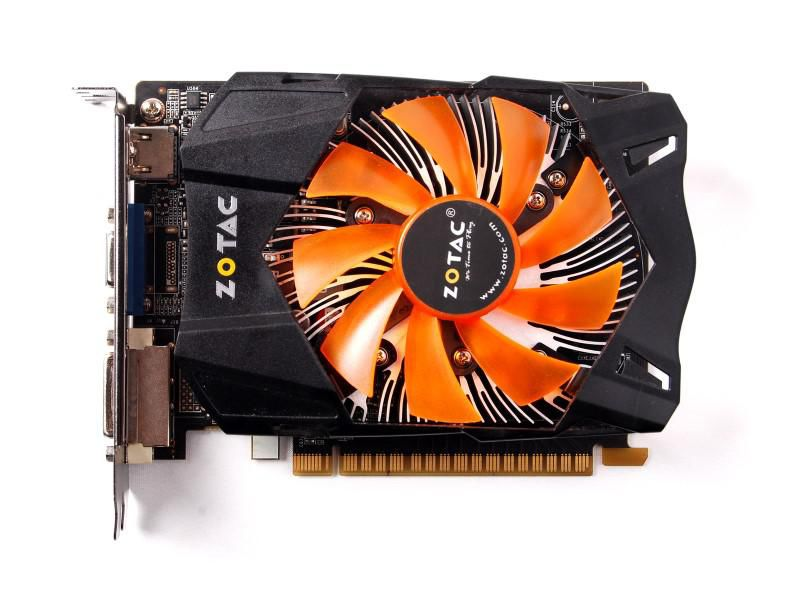 Видеокарта ZOTAC GeForce GTX 650,  2Гб, GDDR5, Ret [zt-61013-10m]