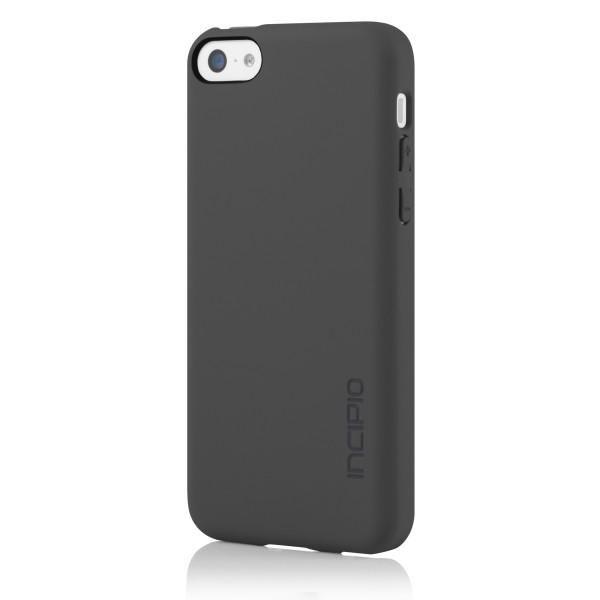 Чехол (клип-кейс) INCIPIO Feather (IPH-1141-GRY), для Apple iPhone 5c, серый