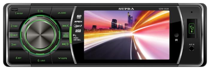 Автомагнитола SUPRA SDM-3504,  USB,  SD