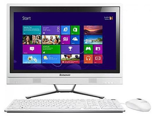 Моноблок LENOVO C460, Intel Core i3 4130T, 4Гб, 1000Гб, nVIDIA GeForce 705M - 2048 Мб, DVD-RW, Windows 8.1, черный [57321520]