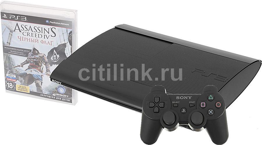 Игровая консоль SONY PlayStation 3 PS719217688, черный