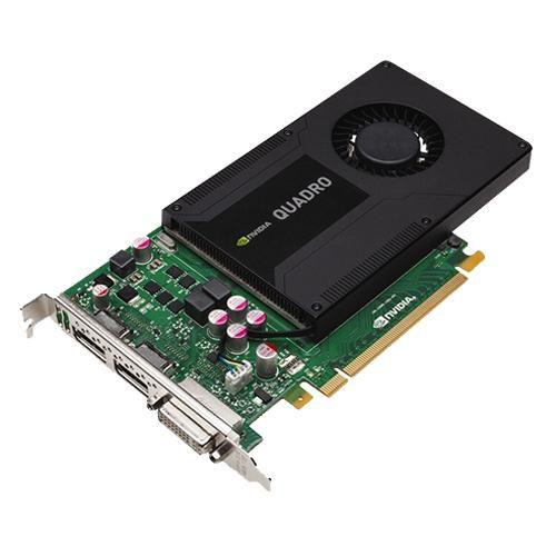 Видеокарта DELL Quadro K2000,  490-14290,  2Гб, GDDR5, oem