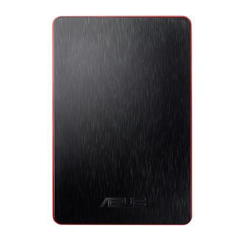Внешний жесткий диск ASUS FlexSlim PF301, 500Гб, красный [90xb00l0-bhd010]