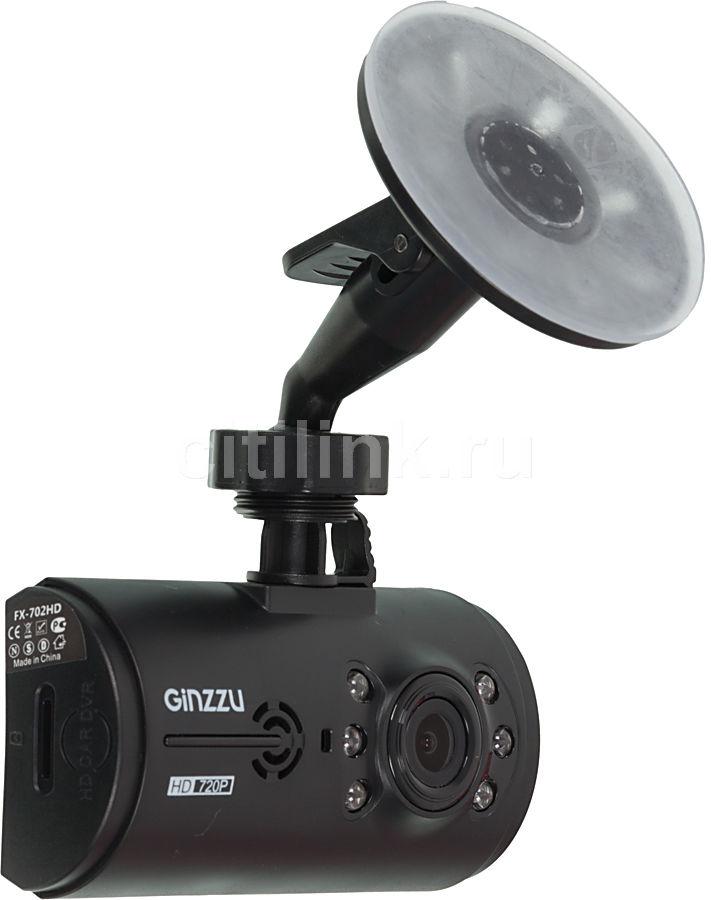 Видеорегистратор GINZZU FX-702HD черный