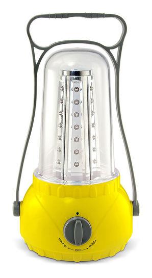 Походный (кемпинговый) фонарь ЯРКИЙ ЛУЧ T-42LA, желтый  [4606400609476]