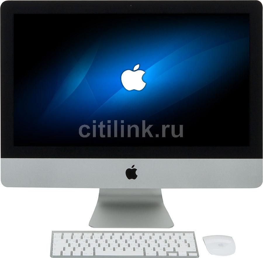 Моноблок APPLE iMac ME087RU/A, Intel Core i5 2310, 8Гб, 1000Гб, nVIDIA GeForce GT750M - 1024 Мб, Mac OS X, серебристый и черный