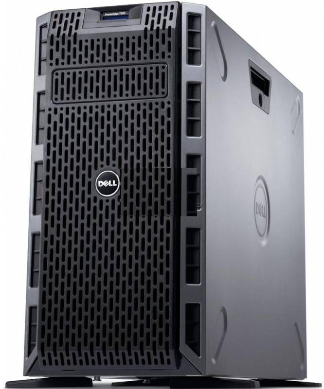 """Сервер Dell PE T320 E5-1410/4Gb 2RLVRD 1.3/ x16 SAS 300Gb 10K 2.5""""/RW/H310/iD7En/2x495W/3YNBD/5U/No [210-40278-36]"""