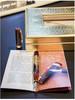 Ручка перьевая Visconti San Basil корпус целлул вставка вермейл перо паллад 23кт F (VS-663-18F) [66318pda55dtf] вид 3