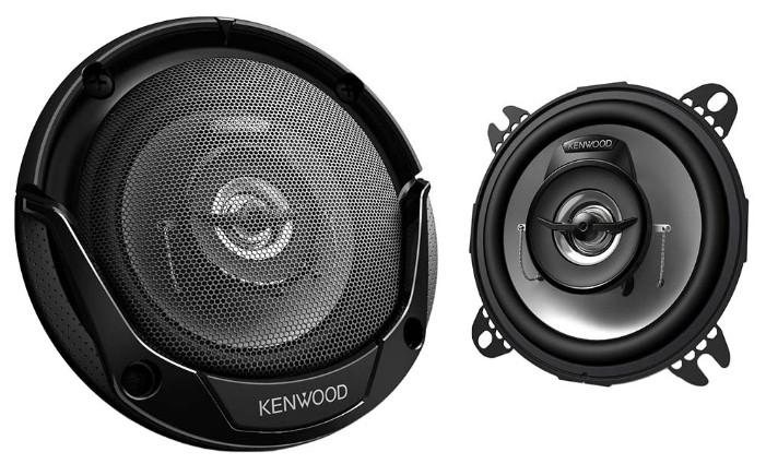 Колонки автомобильные KENWOOD KFC-E1065,  коаксиальные,  210Вт