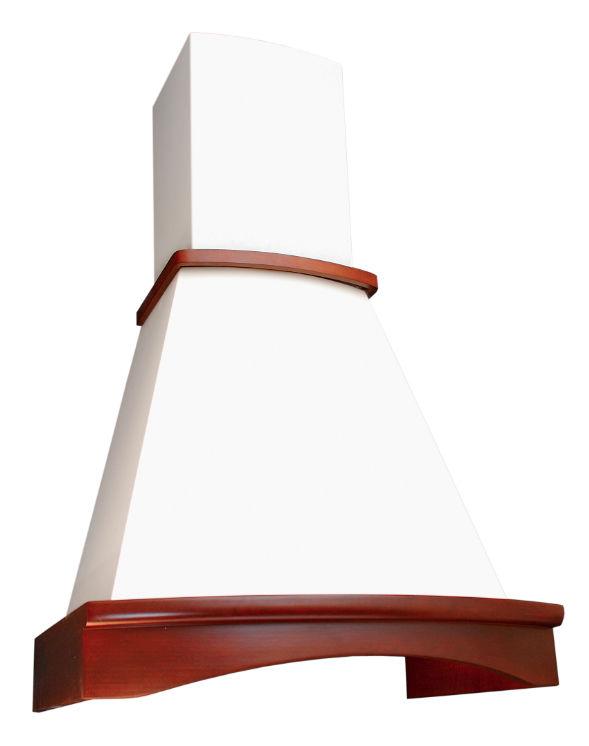 Вытяжка каминная Elikor Ротонда 60П-650-П3Л бежевый/бук светло-коричневый управление: ползунковое (1 [кв ii м-650-60-82]