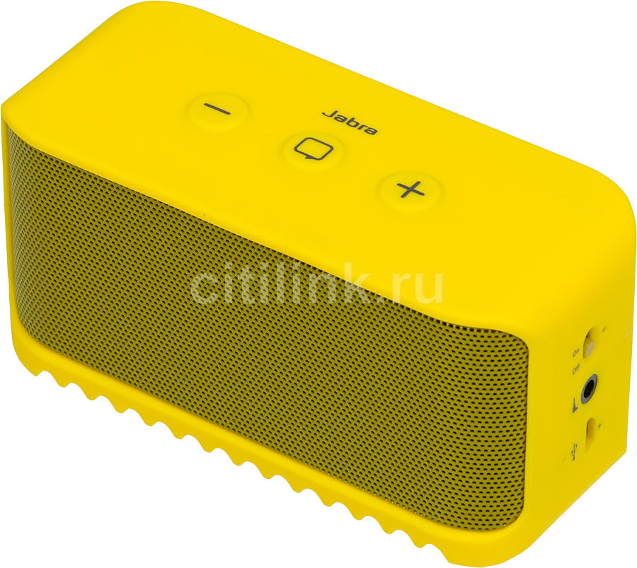 Портативные колонки JABRA Solemate Mini,  желтый [100-97300003-60]