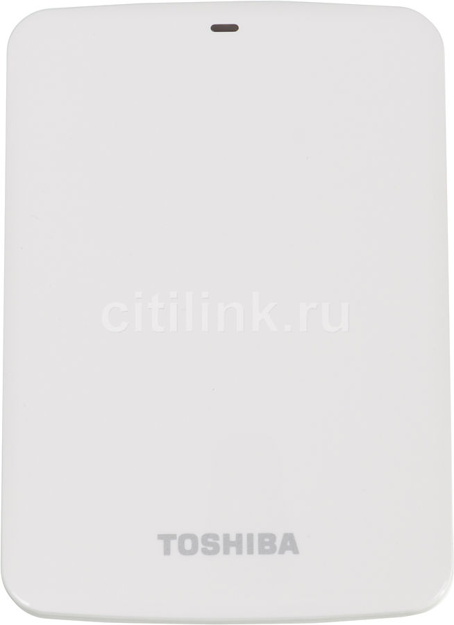 Внешний жесткий диск TOSHIBA STOR.E CANVIO HDTC710EW3AA, 1Тб, белый