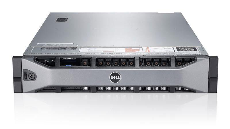 Сервер Dell PE R720 2xE5-2667/8x8Gb 2RLVRD 1.3/ x8 SAS 8x300Gb 15K 3.5