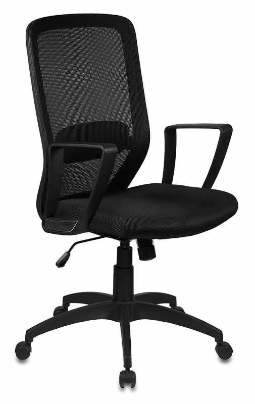 Кресло БЮРОКРАТ CH-899, на колесиках, ткань, черный [ch-899/tw-11]