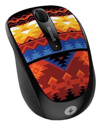Мышь MICROSOFT 3500 Artist оптическая беспроводная USB, рисунок [дубль использовать 836804]
