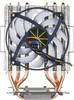 Устройство охлаждения(кулер) TITAN Dragonfly 3,  95мм, Ret вид 2