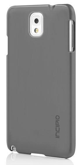 Чехол (клип-кейс) INCIPIO Feather (SA-483-GRY), для Samsung Galaxy Note 3, серый