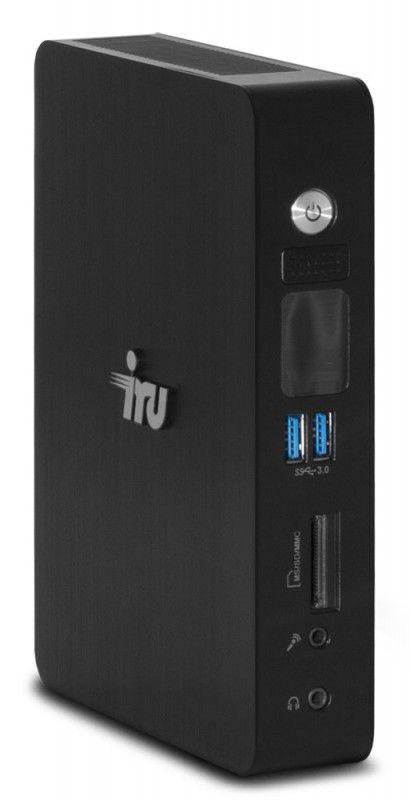 Неттоп  IRU 122,  Intel  Core i3  3217U,  4Гб, 250Гб,  Intel HD Graphics,  CR,  noOS,  черный