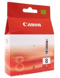 Картридж CANON CLI-8R красный [0626b024]
