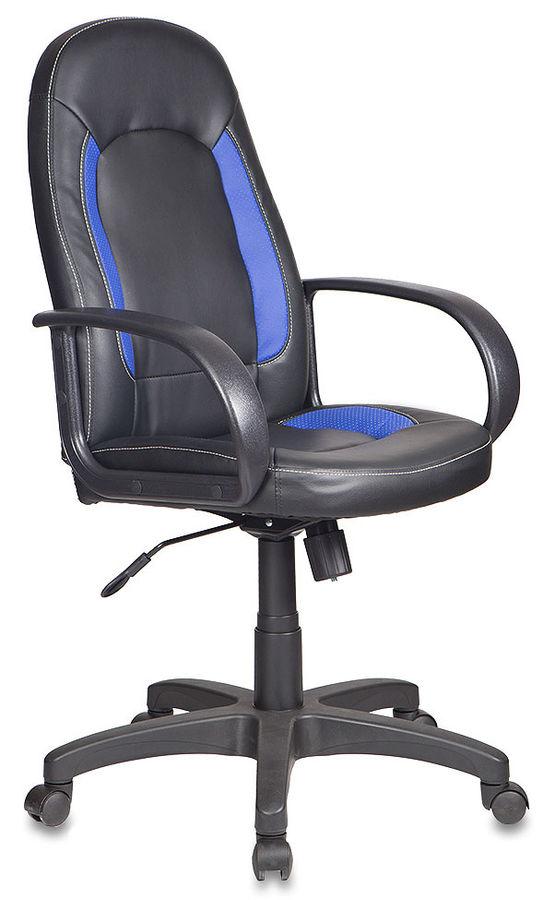 Кресло руководителя БЮРОКРАТ CH-826, искусственная кожа [ch-826/b+bl]