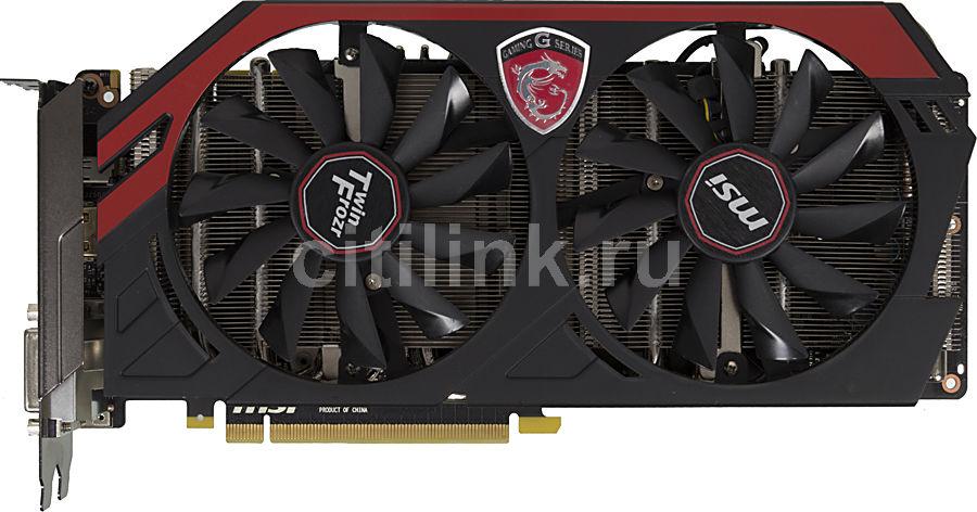 Видеокарта MSI GeForce GTX 780Ti,  GTX 780Ti GAMING 3G,  3Гб, GDDR5, OC,  Ret
