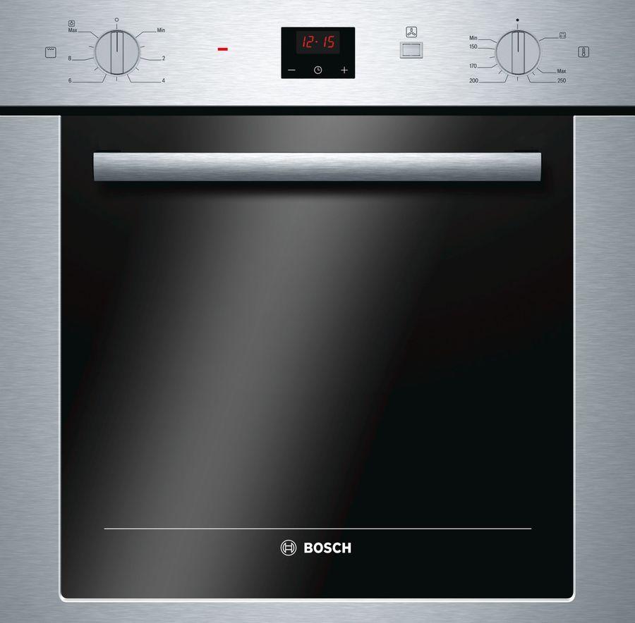 Духовой шкаф BOSCH HGN22F350,  серебристый