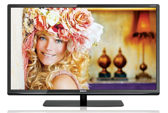 "LED телевизор BBK Evero LEM2484DT2  ""R"", 24"", HD READY (720p),  черный"