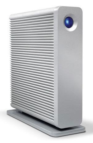 Внешний жесткий диск LACIE D2 Quadra 9000258EK, 4Тб, серебристый [lac9000258ek]