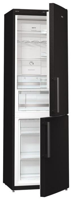Холодильник GORENJE NRK 6192 JBK,  двухкамерный,  черный [nrk6192jbk]