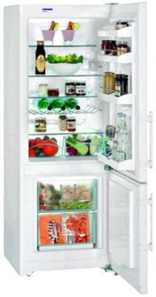 Холодильник LIEBHERR CUP 2901,  двухкамерный,  белый