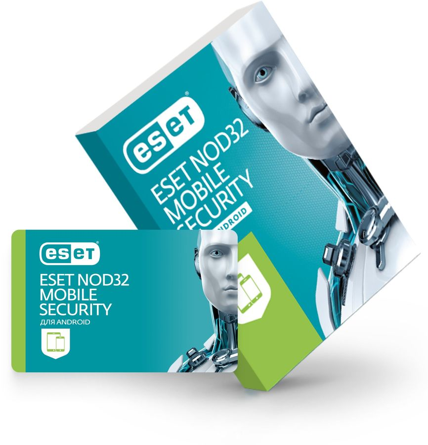 ПО Eset NOD32 NOD32 Mobile Security 3 устройства 1 год Base Box (NOD32-ENM2-NS(BOX)-1-1)