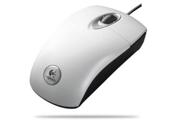 Мышь LOGITECH RX300 оптическая проводная USB, PS/2, черный [910-000429]