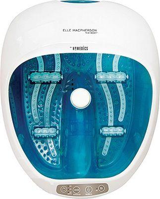 Гидромассажная ванночка для ног HOMEDICS ELMFS-250-EU,  голубой,  белый