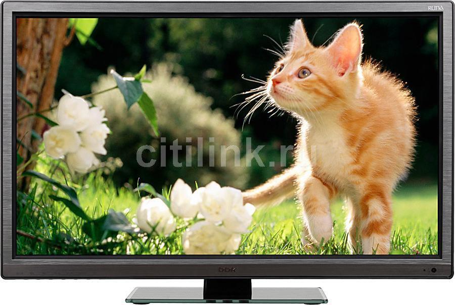 "LED телевизор BBK Runa 24LED-4097/FT2C  ""R"", 24"", FULL HD (1080p),  c DVD плеером,  черный"