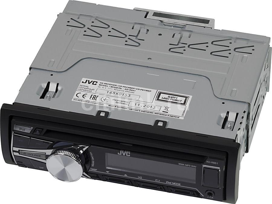 Автомагнитола JVC KD-R651EY,  USB