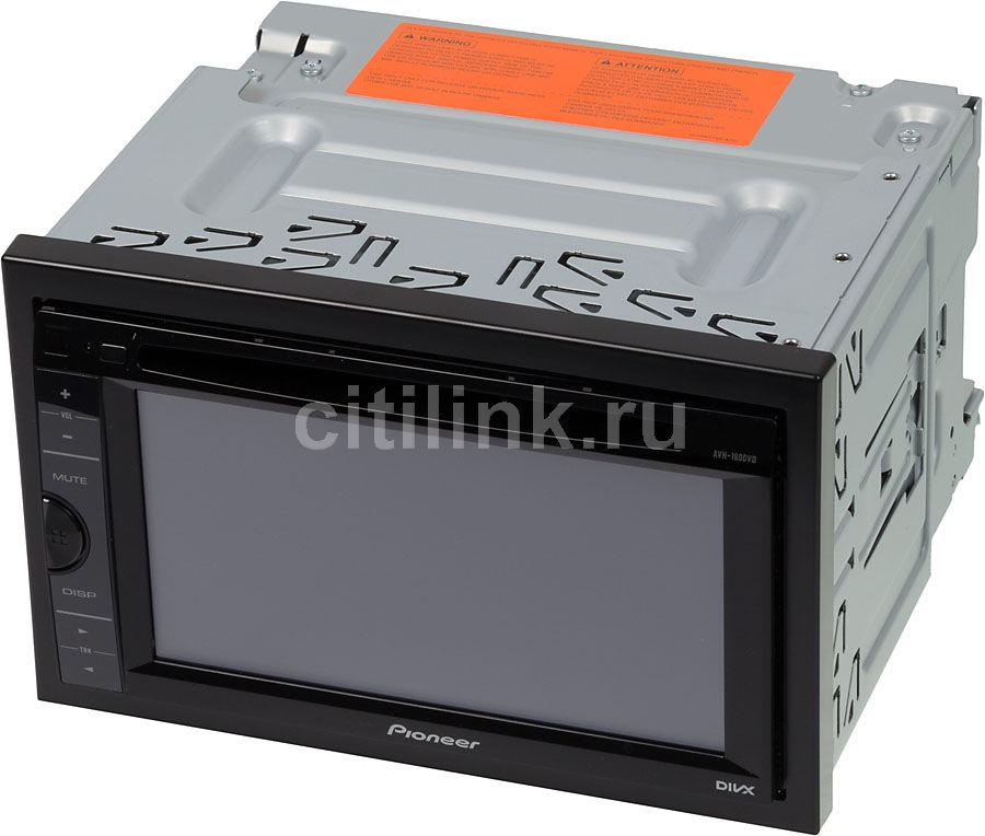 Автомагнитола PIONEER AVH-160DVD,  USB
