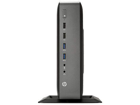 Тонкий клиент  HP t620 Plus,  AMD  GX-420CA,  DDR3L 4Гб, 16Гб(SSD),  AMD Radeon HD 8400E,  Windows Embedded Standard 7E,  черный [f5a62aa]