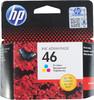Картридж HP 46 многоцветный [cz638ae] вид 1