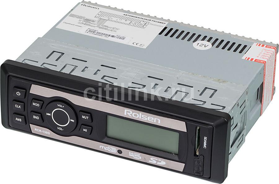 Автомагнитола ROLSEN RCR-130G,  USB,  SD/MMC