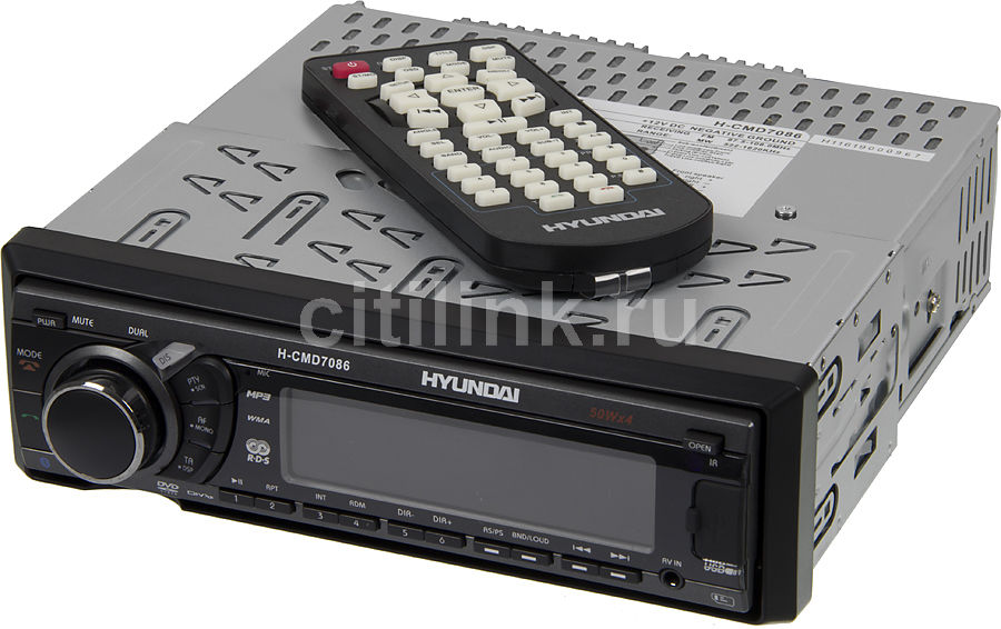 Автомагнитола HYUNDAI H-CMD7086,  USB,  SD/MMC