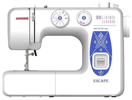 Швейная машина JANOME Escape V-14 белый [es.v-14]