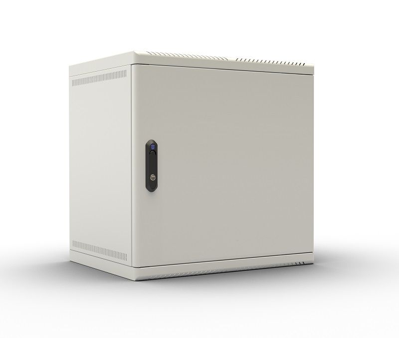 Шкаф коммутационный ЦМО (ШРН-9.480.1) 9U 600x480мм пер.дв.металл 50кг серый