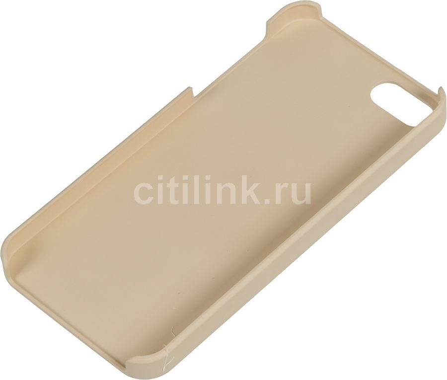Чехол (клип-кейс) WHITE DIAMONDS The Rock, для Apple iPhone 5/5s, золотистый [1210rck3]