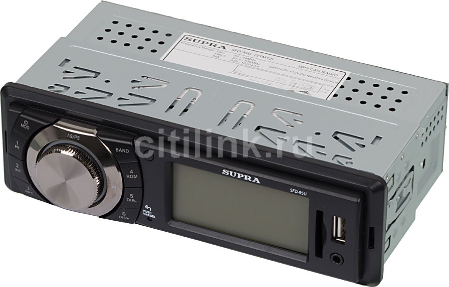 Автомагнитола SUPRA SFD-95U,  USB,  SD