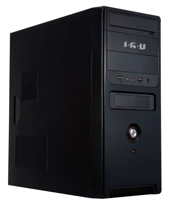 Компьютер  IRU Corp 525,  Intel  Core i5  3470,  DDR3 4Гб, 1000Гб,  Intel HD Graphics 2500,  DVD-RW,  Windows 7 Professional,  черный