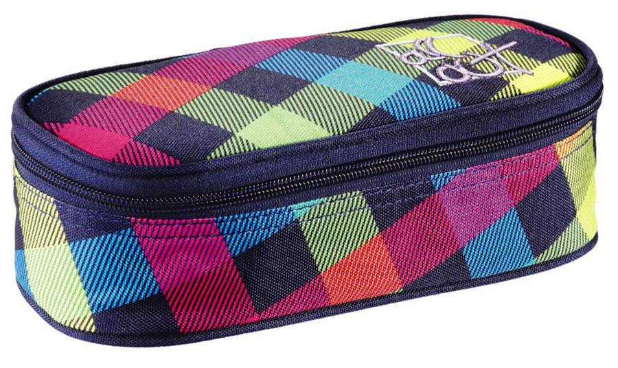 Пенал All Out Sherwood Rainbow Check желтый/розовый/голубой/черный 00124848
