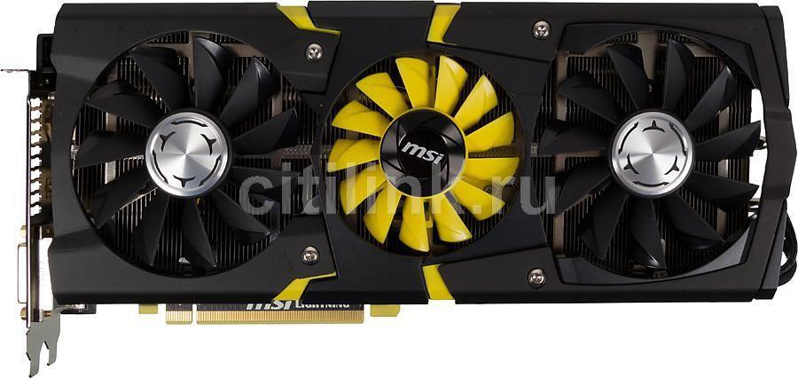 Видеокарта MSI Radeon R9 290X,  4Гб, GDDR5, Ret [r9 290x lightning]