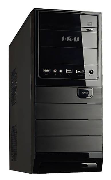 Компьютер  IRU Corp 330,  Intel  Pentium Dual-Core  G3220,  DDR3 4Гб, 1000Гб,  Intel HD Graphics,  DVD-RW,  Windows 7 Professional,  черный