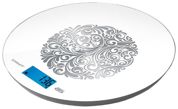 Весы кухонные SCARLETT SC-1215,  белый