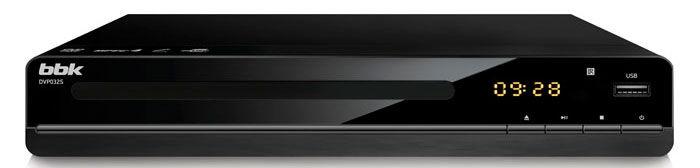 DVD-плеер BBK DVP032S,  черный
